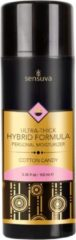 Transparante Sensuva Hybrid Ultra Dik Glijmiddel Op Waterbasis - Cotton Candy