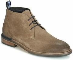 Bruine Boots en enkellaarsjes Pilot Desert Suede by Schmoove