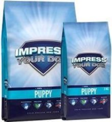 Impress your dog Puppy Geperste Brok 12,5KG