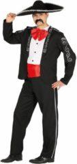 Zwarte FIESTAS GUIRCA, S.L. - Mexicaans kostuum voor mannen - M (38) - Volwassenen kostuums