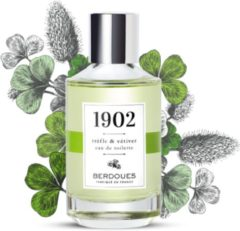 Berdoues 1902 Trefle & Vetiver 100 ml - Eau De Toilette Spray Damesparfum