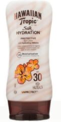 Indasec Hawaiian Tropic Silk Hydration Protective Sun Lotion Spf30 High 180ml