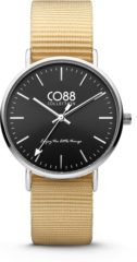 CO88 Collection Watches 8CW 10038 Horloge - Nato Band - Ø 36 mm - Beige