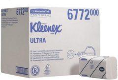 Kleenex® Papieren Handdoeken, Interfold, 2-laags, 21,5 x 41,5 cm, Wit (doos 30 x 94 vel)