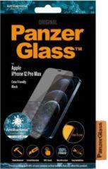 PanzerGlass Case Friendly Screenprotector voor iPhone 12 Pro Max - Zwart