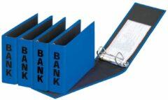 Pagna ringmap (PCR) formaat 14 x 25 cm blauw glans uitvoering met zwarte belettering