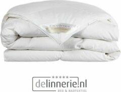Excellence 90% Ganzendons 4-Seizoenen Dekbed - Eenpersoons - 140x220 cm - Wit