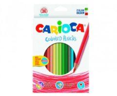 Pastelli Colored Pencils 36 pezzi Carioca