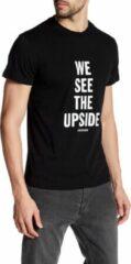 Zwarte Diesel Heren T-shirt Maat S