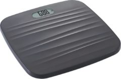 Grijze Cosy&Trendy Personen weegschaal 100 gr - 180 kg excl 3 AAA batterijen