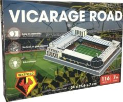 Witte Non-License 3D Puzzel Watford Vicarage Road: 116 stukjes