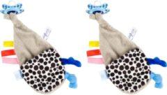 Blauwe Difrax Fopspeendoekje - 2 stuks