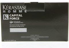 Sale Kérastase Homme Capital Force Serum de Massage Énergisant Tubetjes Energie voor Hoofdhuid en Haar 180ml