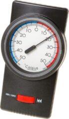 Dr. Friedrichs Thermometer Bi-met Mini-Maxi - Zwart