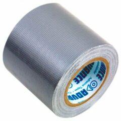 Zilveren Basic Nature - Reparatur Tape - Plakband maat 50 m, silber