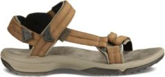 Teva - Women's Terra Fi Lite Leather - Sandalen maat 6, zwart/bruin