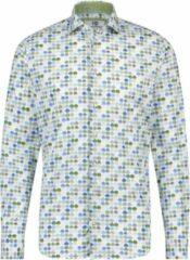 Blauwe Compañeros Modern Fit Premio Heren Overhemd Maat 3XL
