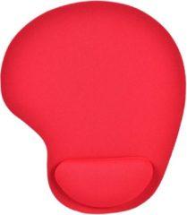 Merkloos / Sans marque KOOZIE.EU Mousepad met neoprene toplaag - muismat - rood