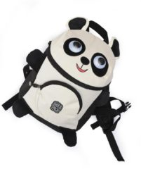 Pick & Pack Cute Panda Shape Backpack black multi Kindertas