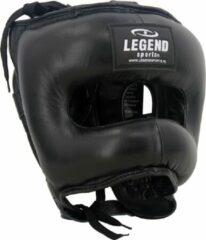 Legend Sports Hoofdbeschermer + Neusbeschermer PRO Zwart XL