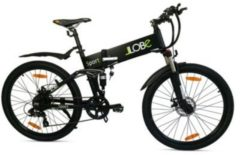 LLobe Alu Elektro Mountain Faltrad 26 Zoll Sport, 7 Gang Shimano-Schaltung schwarz