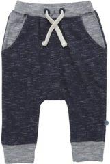 Minymo - newborn baby broek - Elif - blauw - Maat 68