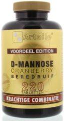 Artelle D-Mannose cranberry berendruif 220 Tabletten
