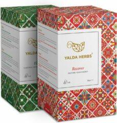 Combipack van Recover en Elixir- 2 Doosjes van Yalda Herbs Kruidenthee-36 piramide theezakjes