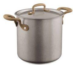 Zilveren Kookpan Vintage extra hoog 20 cm incl deksel - Sambonet