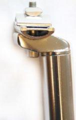 Dynamic24 Alu Fahrrad Sattelstütze silber 350 mm Aluminium Patentkopf CNC 31,4 mm Neu