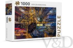 Rebo Productions Legpuzzel Hong Kong Karton 1000 Stukjes