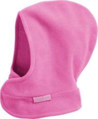 Playshoes Winter Playshoes Fleece Muts klitteband Kinderen - Roze - Maat 51-53cm