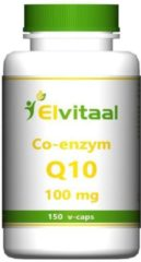 Elvitaal Co-enzym Q10 100 mg - 150 V Capsules - Voedingssupplement