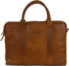 DSTRCT Limited Edition Laptoptas 15,6 inch 018097 Cognac