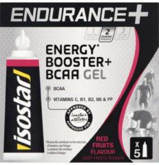 Isostar Energiegel Endurance BCAA rode vruchten 5x 20 g