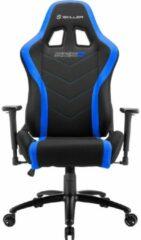 Blauwe Sharkoon Skiller SGS2 Gaming Seat bk/bu