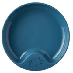 Donkerblauwe Mepal Mio – Oefenbord – mag in de magnetron – Deep blue – anti-slip bodem – Kinderbord – kinderservies
