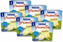 Nestlé Nestle Dreumesvla Vanille - baby toetje - vanaf 8 maanden - 24 x 100 gram