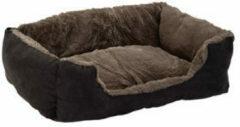 Beeztees Ligbed Kat Baboo Taupe - Zwart 48 x 37 x 18 cm