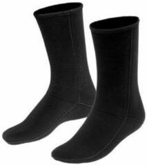 Zwarte Waterproof B1 Neopreen Sokken 1.5mm
