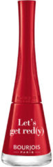 Rode Bourjois 1 Seconde Nail Polish 9ml (Various Shades) - Lets Get Red(y)