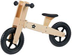 Kids Concept Kid's Concept Houten Loopfiets Neo - Loopfiets - Jongens en meisjes - Blank;Zwart