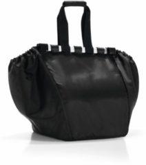 Zwarte Reisenthel Easyshoppingbag - Boodschappentas voor winkelwagen - Opvouwbaar - Polyester - 30L - Zwart