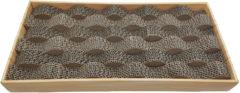 Bruine Adori Krabplank Wave - Krabpaal - 48x23x5.5 cm