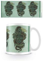 Witte Harry Potter Slytherin Snake Crest Mok
