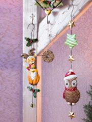 Weihnachtseule Goebel braun