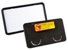 ESVSHOP.nl DURABLE Naambord CLIP CARD met magneet, kunststof, 25/VE 75 x 40 mm