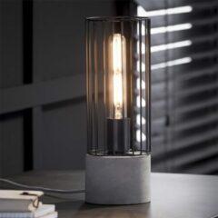 Grijze Easy Furn Tafellamp Fos