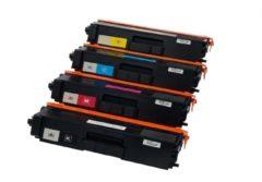Cyane KATRIZ® huismerk toner | TN326BK + TN326C + TN326M + TN326Y (4 stuks) | voor Brother DCP L8400 CDN/DCP L8450 CDW/HL L8250 CDN/HL L8350 CDN/HL L8350 CDW/HL L8350 CDWT/MFC L8650 CDW/MFC L8850 CDW