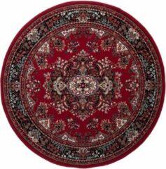 Interieur 05 Vintage vloerkleed Nain Perzisch Rood Rond 200 cm